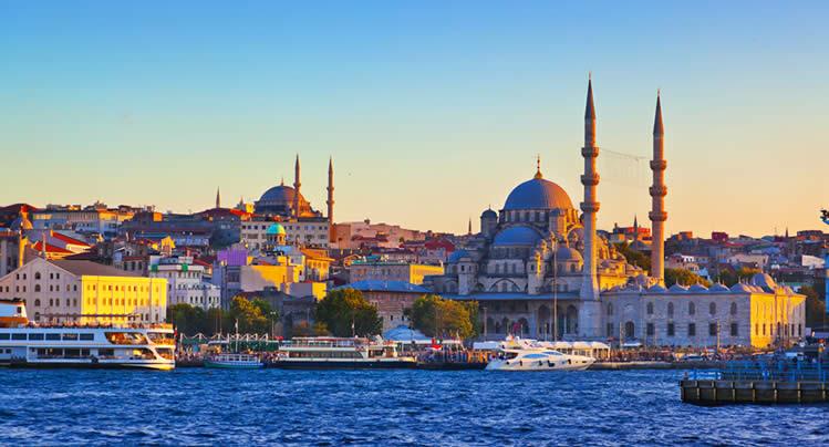 Istanbul Port in Turkey