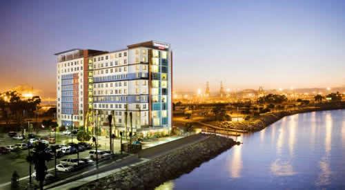 Long Beach Residence Inn Downtown Hotel