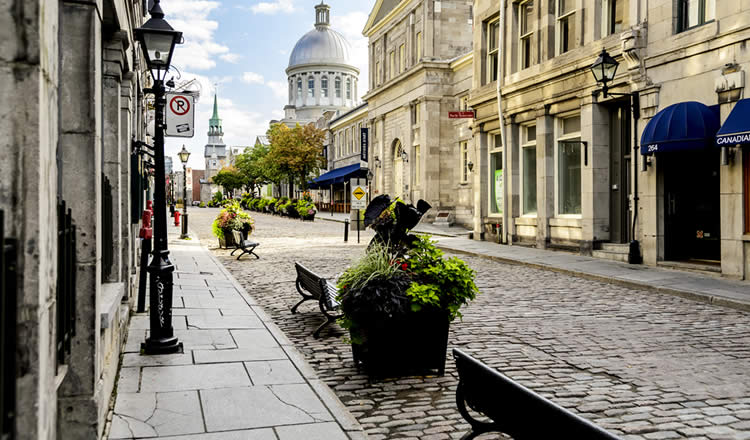 Montreal Canada Downtown