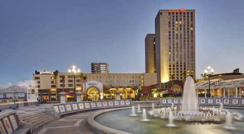 New Orleans Hilton Riverside Hotel