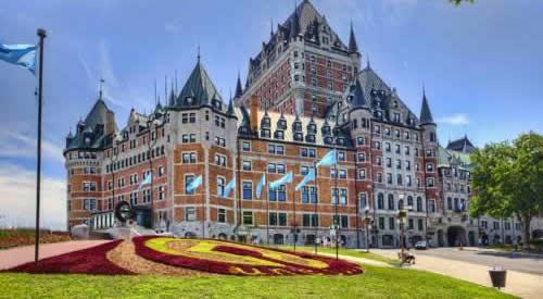 Quebec City Fairmont Hotel Le Chateau Frontenac