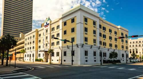 Mobile Candlewood Suites Downtown
