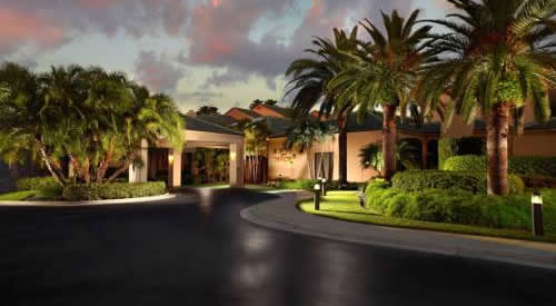 West Palm Beach Courtyard