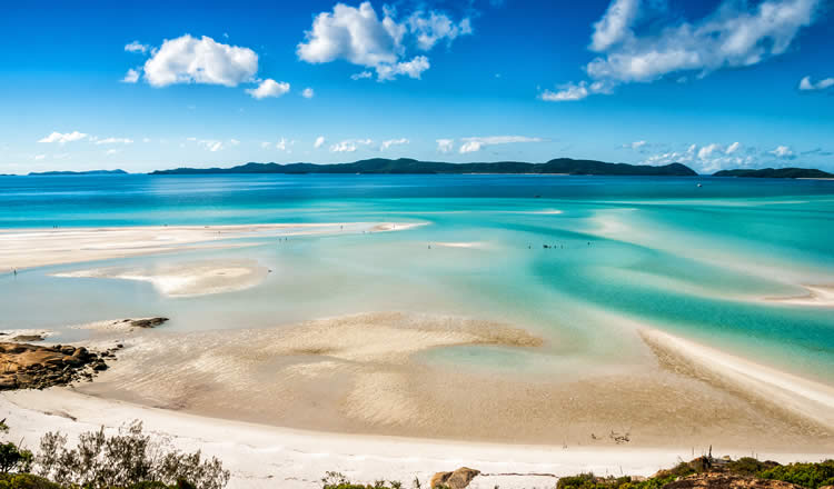 Queensland Whitsunday Islands