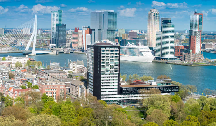 Hotels Near Rotterdam Cruise Port Terminal Harbour