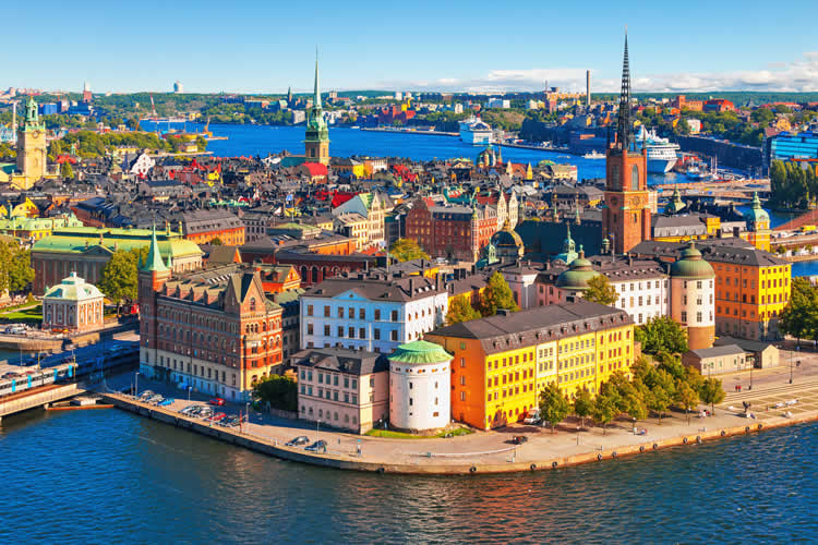 Stockholm Sweden city center