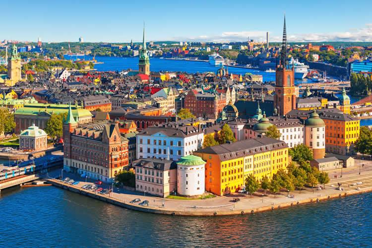 Stockholm Sweden city center