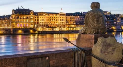 Basel Grand Hotel Les Trois Rois