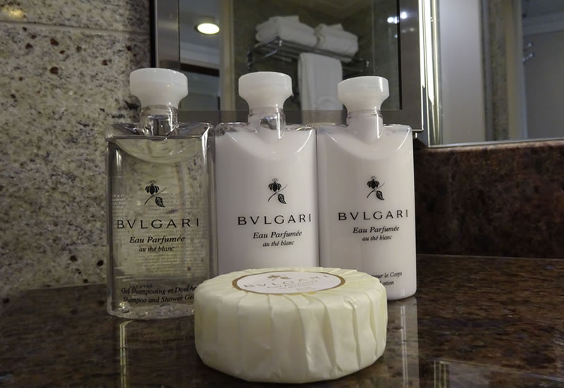 Bulgari bath products