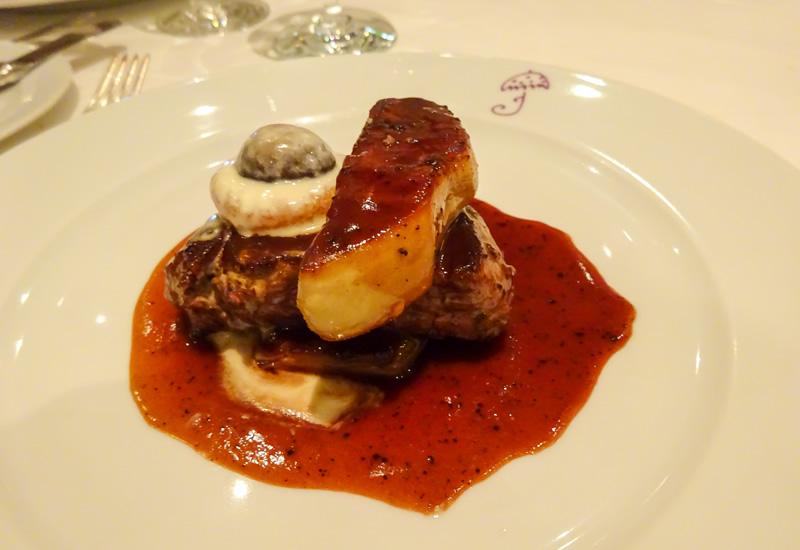 Filet Steak with Truffle Sauce