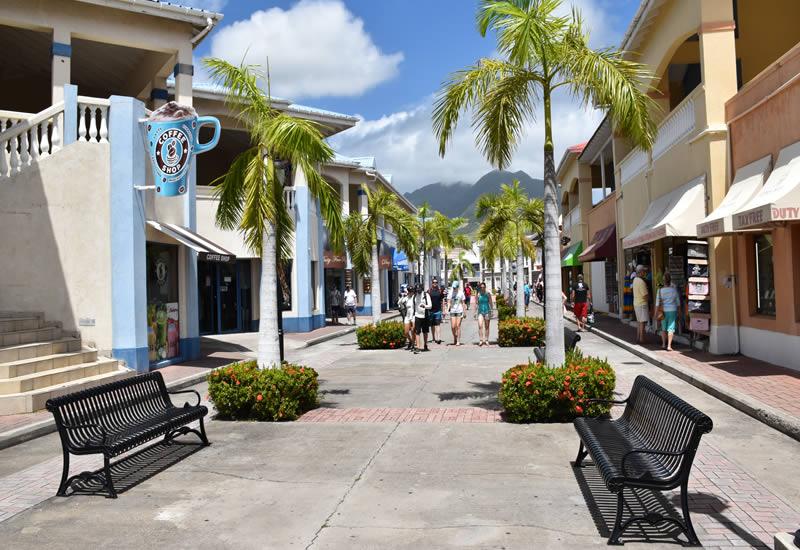 Port Zante shopping area
