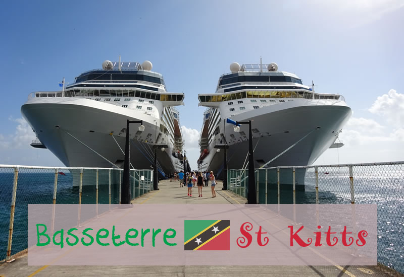a visit to basseterre st kitts cruise port plenty of photos