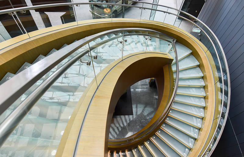 twirling staircase