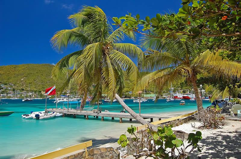 Bequia island harbor
