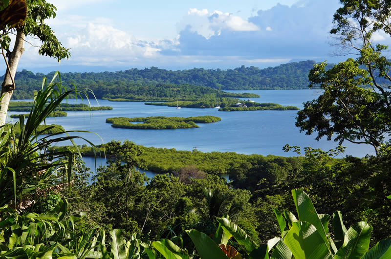 Bocas del Toro islands Caribbean coast Panama