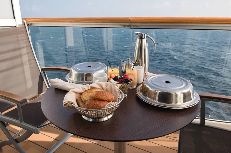 Breakfast on your balcony