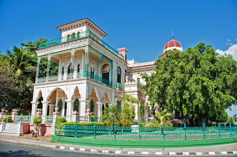 Cienfuegos old house in Cuba
