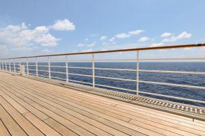 cruise deck promenade