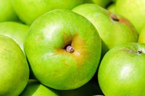 green apples to prevent motion sickness