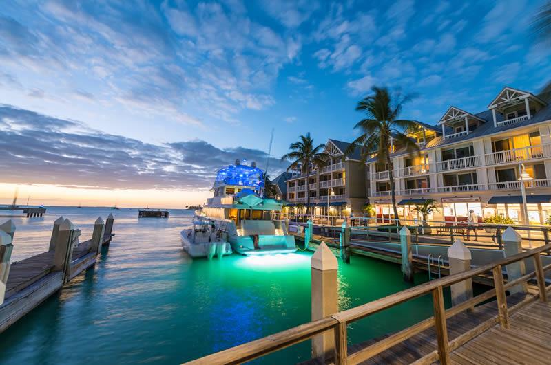 Key West sunset Florida