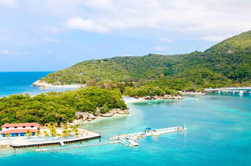 Labadee Royal Caribbean private island in Haiti