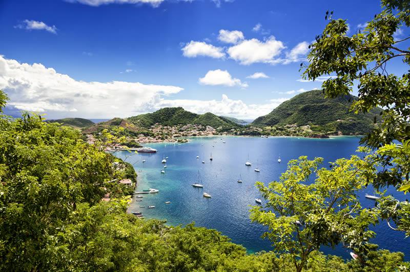 Terre de Haut on Les Saintes island Guadeloupe