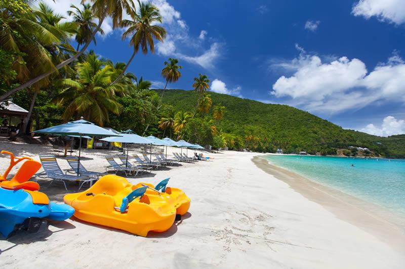 Cane Garden Bay beach in Tortola