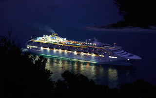 Princess cruiseship