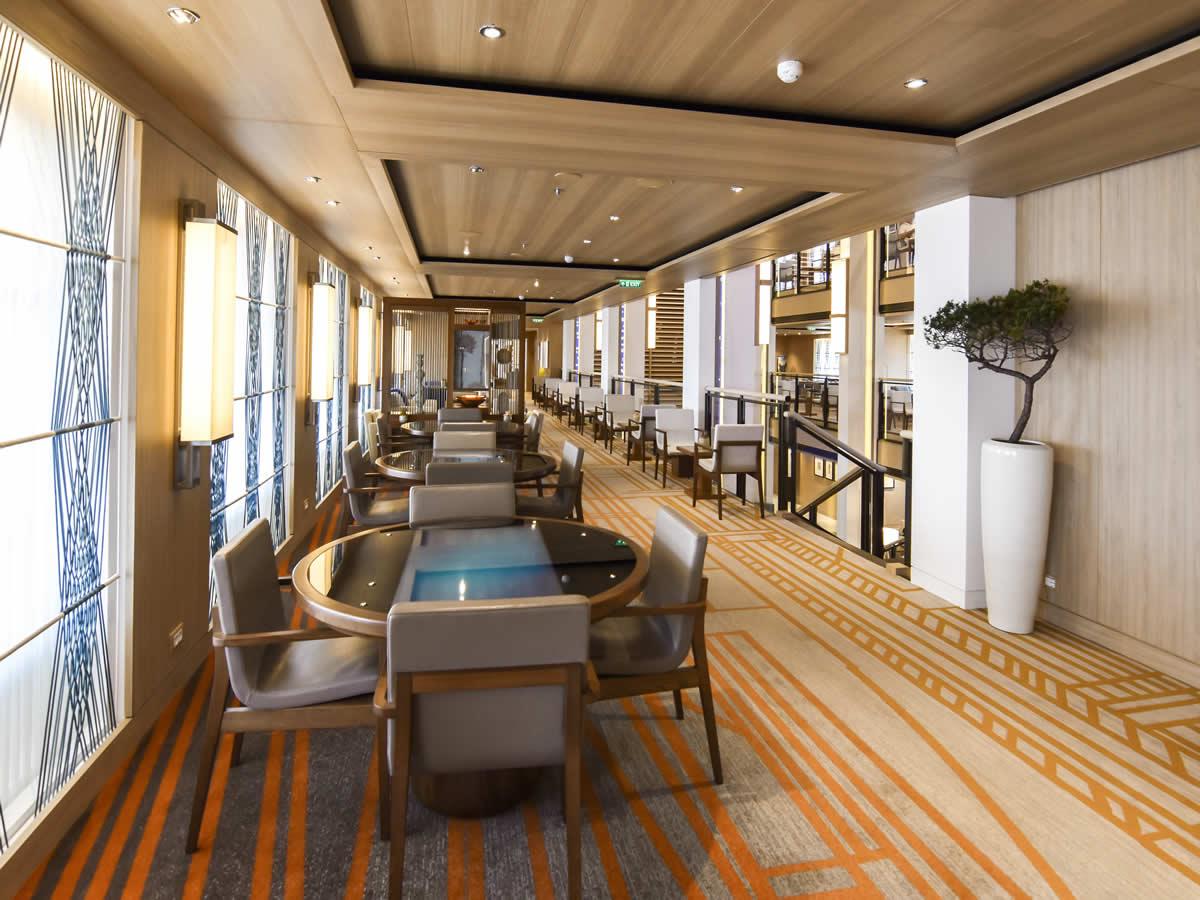 Deck Two Atrium Upper Level