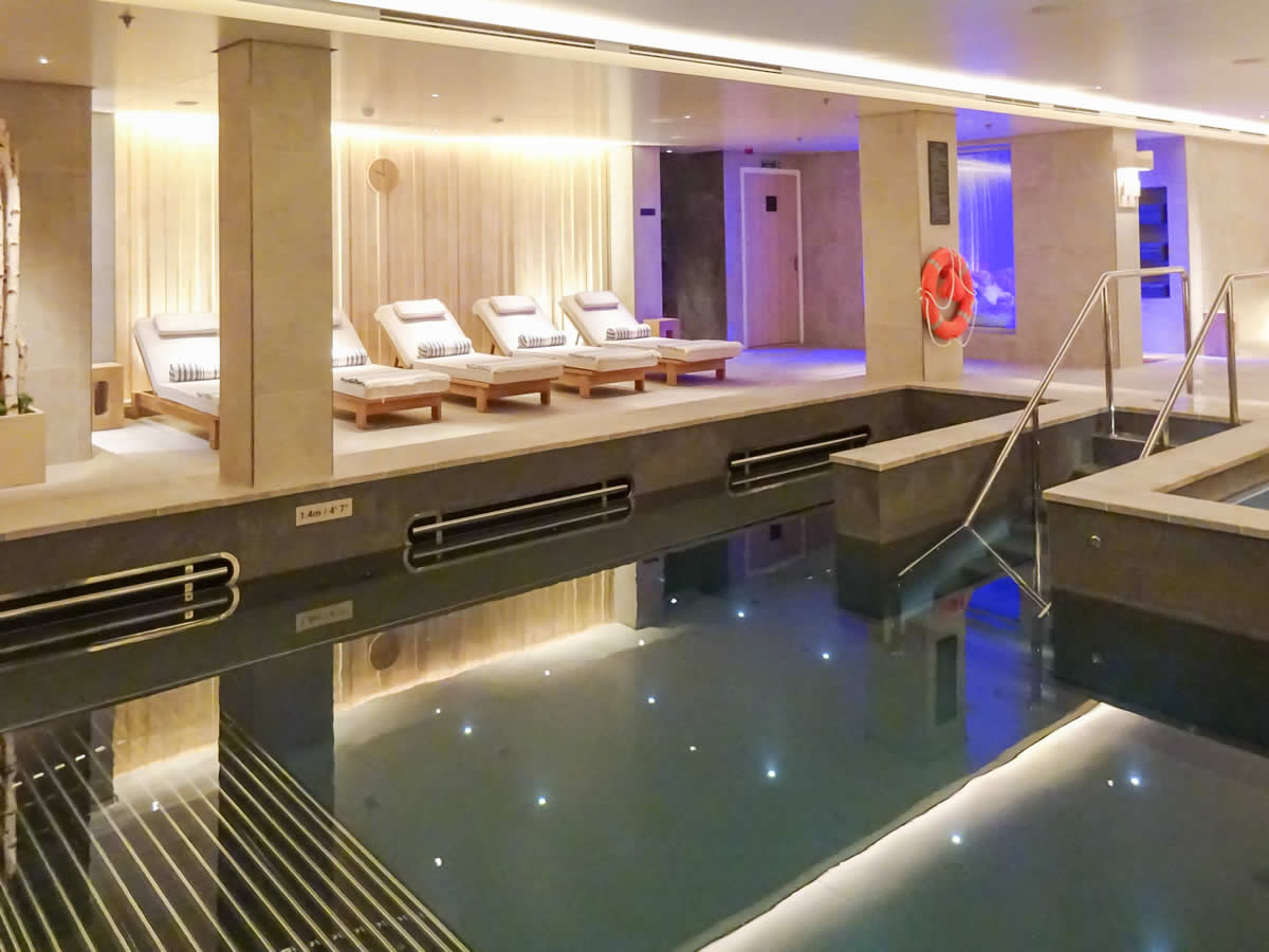 LivNordic Thermal Suite Pool