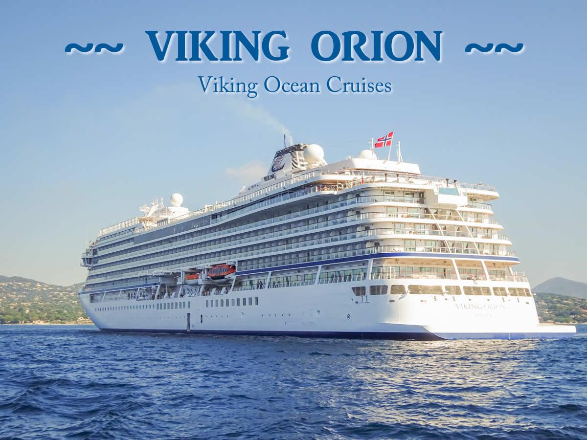 Viking Orion Cruise Ship