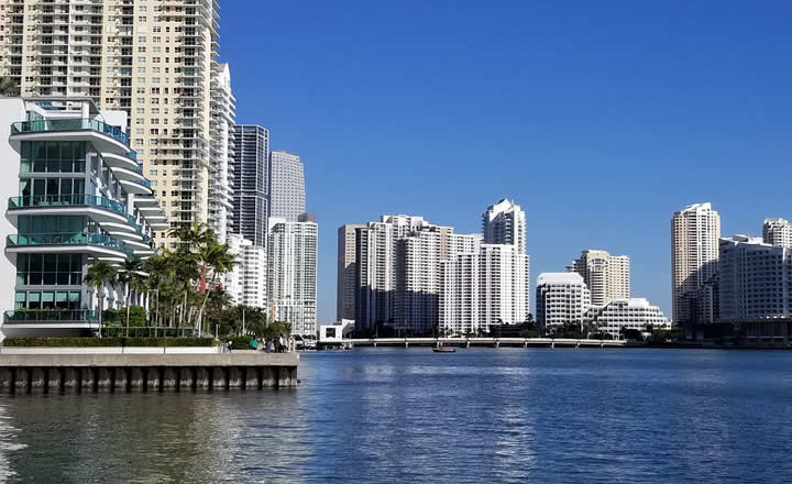 Miami Brickell area