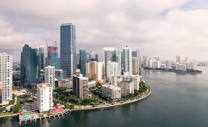 Miami Downtown and Brickell neighborhood
