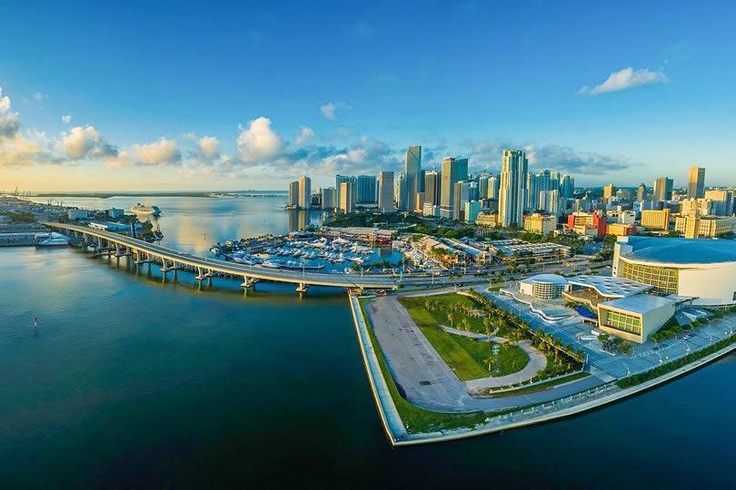 Cruise Port of Miami in Florida
