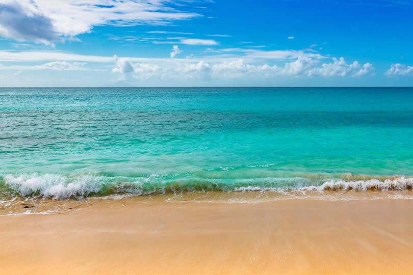 Condado beach in Puerto Rico