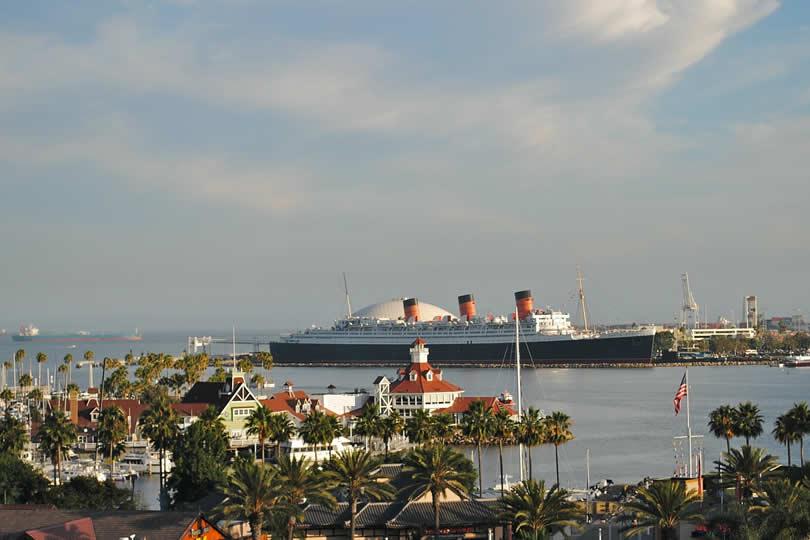Long Beach cruise port