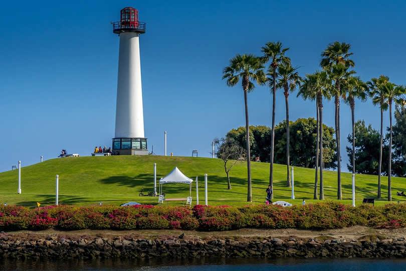 Long Beach Ca lighthouse