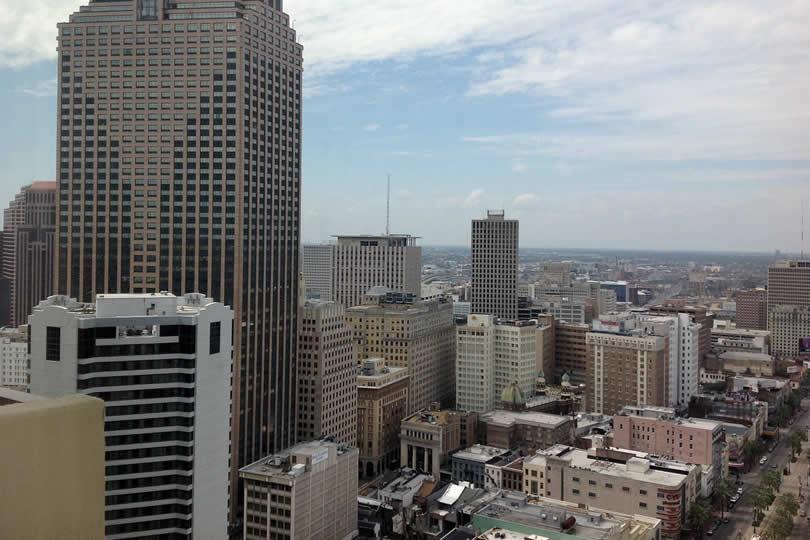 Downtown New Orleans LA