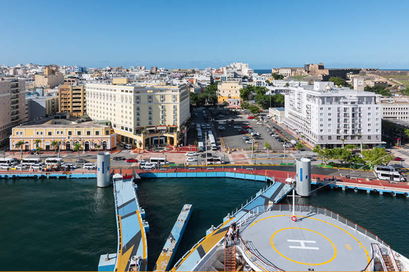 Old San Juan Cruise Pier