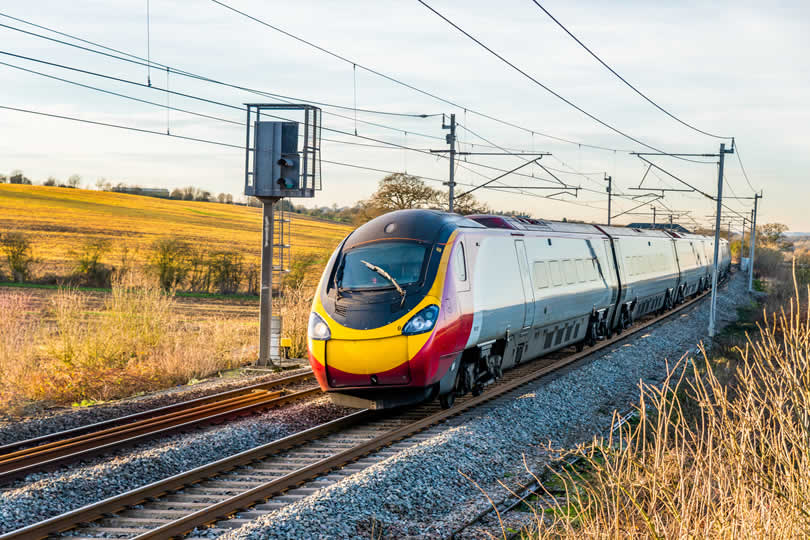Train travel England