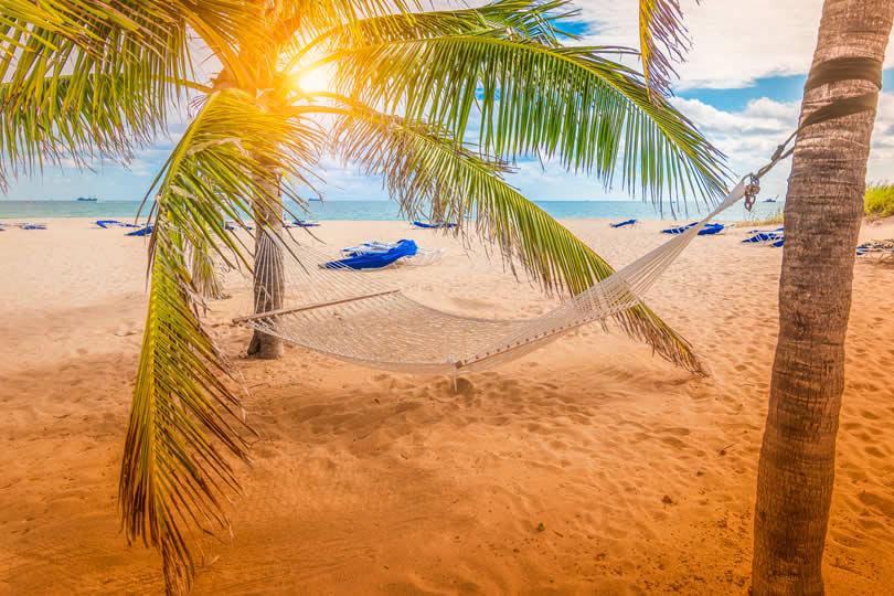 Las Olas Beach sunset