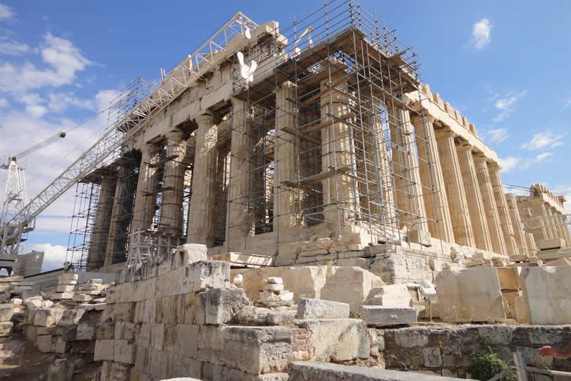 Parthenon in Athens Greece