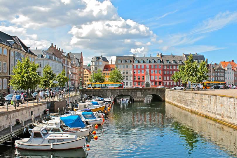 Copenhagen Denmark city centre