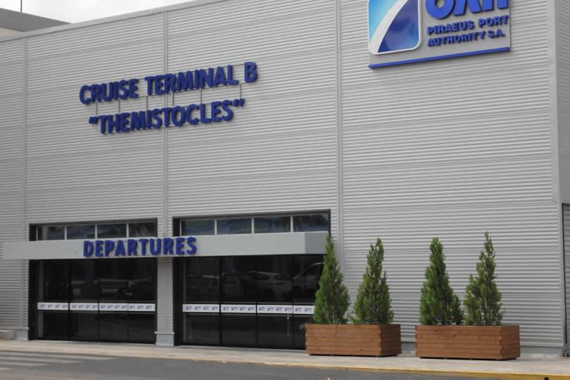 Cruise Terminal B in Piraeus Port