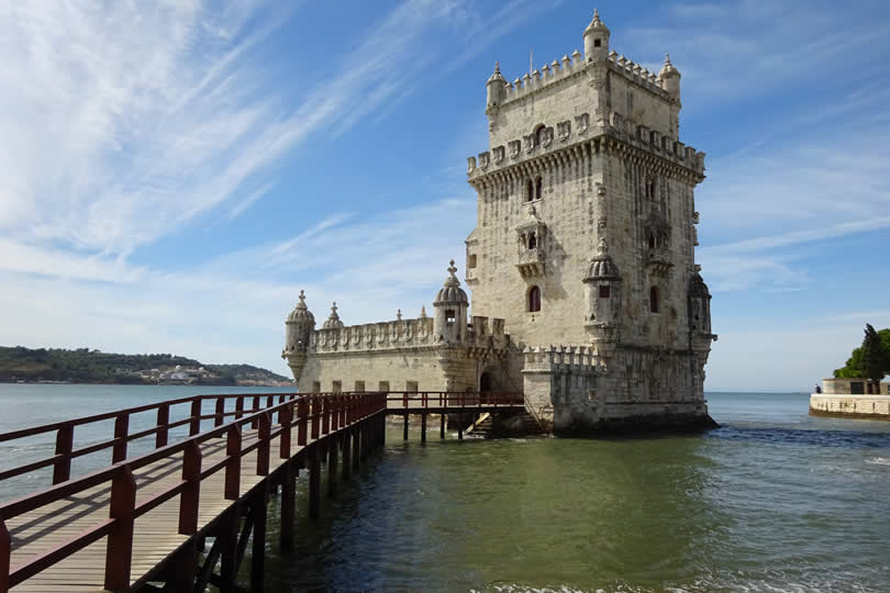 Belem tower in Lisbon Portugal
