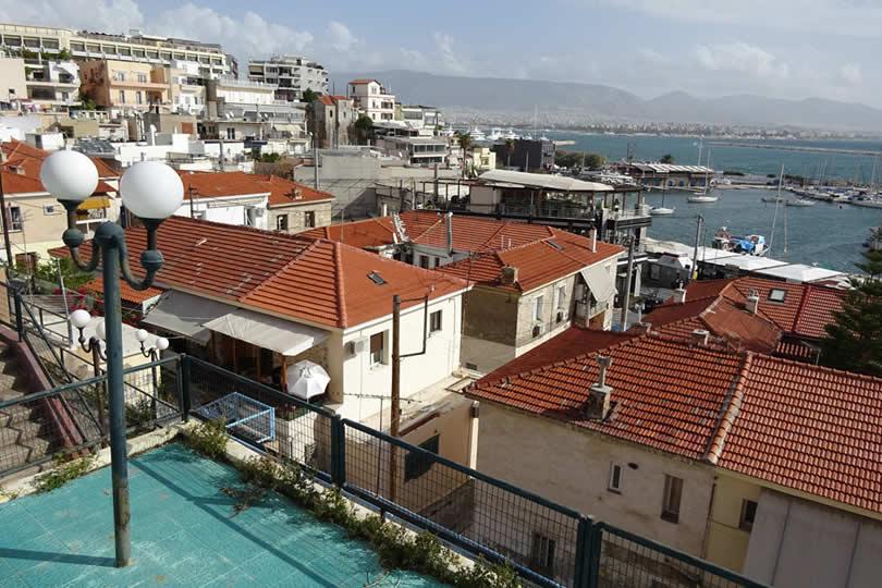 Piraeus waterfront marina