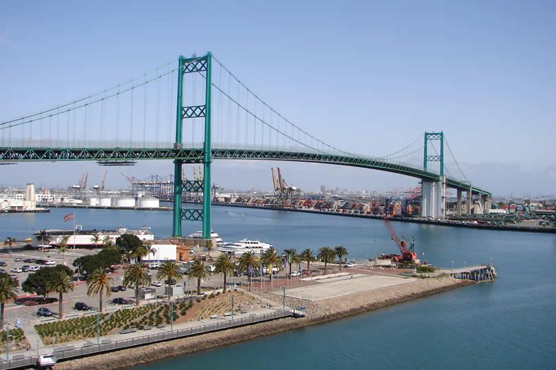 San Pedro cruise port in Los Angeles