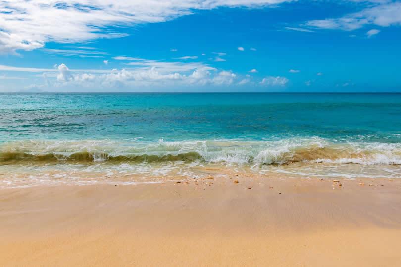 Beach in the Bahamas