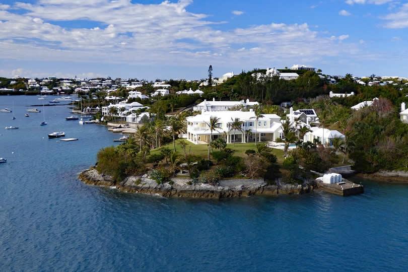 Bermuda houses and villa