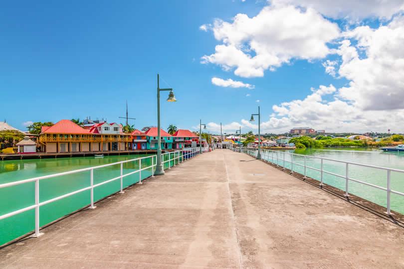 St John's cruise pier
